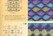 Håndarbejde hæklet mønster