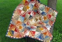 Farm Chick Quilts Patterns / These patterns were part of our Civil War Club and now they are available to you.  They are inspired by civil war era quilts and blocks.