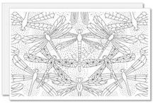 Great Designs I Can Color! / Adult Coloring - mandalas, pages, and even greeting cards, hoe fun!
