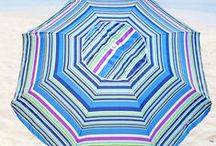 Beach Umbrellas / Beach umbrellas are popular beach sun shelter to protect your skin from the harmful UV rays of the sun www.beachmall.com