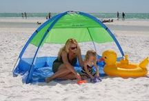 Beach Cabana / Beach cabanas and tents are freestanding house like structures. They are also known as shade structures. They are portable and are easy to construct, fold and unfold. Small children love these private beach centers. The two terms- cabanas and tents are by and large used to denote the same thing and are hence used interchangeably.