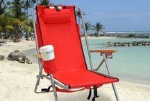 Backpack Chairs / Backpack beach chair is the best choice for the smart and light travelers, whether picnicking, camping or going for a concert enjoying hands-free transport.  Enjoying the invigorating air of the sea has become easy with the availability of back pack chairs. Light-weight, sturdy and compact. So, shed your concerns of carrying heavy accessories during beachside vacations. Just carry a simple backpack chair!