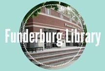 Funderburg Library / Study areas, Resources, and More. Find out more at http://www.manchester.edu/library