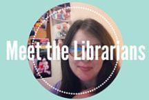 Meet the Librarians & Staff / Library Faculty, Staff Members, and Student Worker Bio's