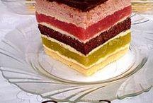 Рецепты тортов с разрезами / Тортики, рецепты, разрезы / by Natalya Fedorovich