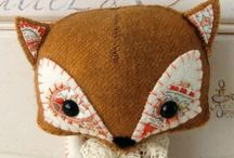 Sew stuffed creatures