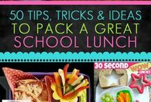 Healthy Lunches & Snack Ideas for Kids