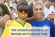 World Cup 2014 Testimonials / Check out what our clients have been talking about us! / by TGW Travel Group