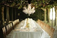 At my table / Table settings/ dinner parties/ party planner
