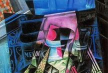 Cubism / Artwork created during the Cubist art movement.