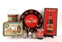 ANTIQUE ADVERTISING COLLECTIBLES / Featuring antique advertising and vintage collectibles from many popular categories including Breweriana, Soda, Coffee, Whiskey, Tobacciana, Dairy, Wine and Bakery. Rare pieces are lithographs, porcelain advertising signs, brewery steins, metal serving trays, reverse-on-glass signs, relics from historic dairy farms, tin coffee collectibles, soda fountain syrup dispensers and glass bottles, and so much more.