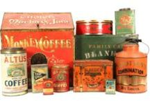 VINTAGE COFFEE ADVERTISING COLLECTIBLES