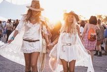 F E S T I V A L • F A V E S / At Toby Heart Ginger we love a good music festival and constantly find inspiration from festival fashion, these are a few of our favourite fashion and makeup looks.