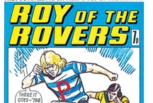 Roy of the Rovers / Comic footballing legend Roy of the Rovers!