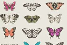 Birds & Butterflies / Bird and butterfly crazy? Here's a selection of fabulous bird and butterfly fabrics and wallpapers we have here in our showroom in Greenwich...