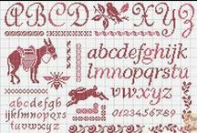 Cross stitch pattern / by Janny van Haren/tenHaaf