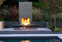 Out door Fireplace