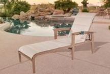Lounging and Poolside furniture / Lounging pool side should be comfortable and stylish