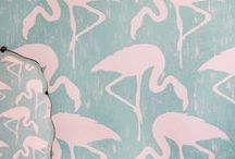 Vintage Fabrics & Wallpapers / Stunning vintage inspired fabrics and wallpapers available in our showroom.