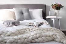 Chunky knit throws / Chunky knit throw blankets
