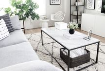 Marble table / Carrara marble coffee tables, handmade in Melbourne by Immy and Indi