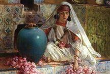 Oryantalist resim / Yağlı boya