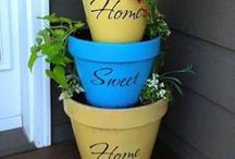 Curb Appeal / Just like books are often judged by their cover, sometimes our curb appeal doesn't truly reflect the love within our home. Ways to put a little more love into your curb appeal.