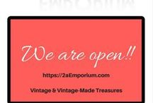 Vintage Stores & Shopping / One-stop shopping directory of Vintage and Handmade Shopify stores.