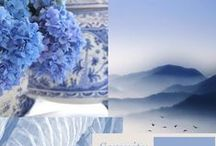 B l u e  H u e s / Home ideas and homewares in brilliant blues, blue colour decor and blue things