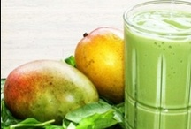 fruit + green smoothie recipes