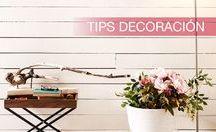 Tips decoración / Sabemos que hay pequeños detalles o grandes cambios que pueden hacer la diferencia en tu hogar. Te proporcionamos tips para que personalices tus espacios.