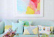 C o l o u r f u l   H o m e s / A collection of colourful homewares & interiors to light up your life!