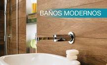 Baños modernos / El mejor momento para el descanso y el relax en tu hogar.