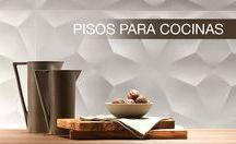 Pisos para cocinas / Ese lugar ideal para crear los mejores sabores y momentos que se vuelva perfecto para ti y los tuyos la cocina.