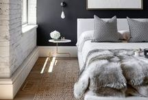 B l i s s f u l  B e d r o o m s / #bedroom #bedding #romantic #pillows #quilts #sheets
