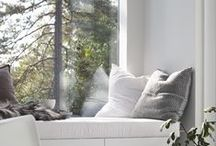 C o s y  C o r n e r s / nooks, cosy corners and relaxing spots in the home