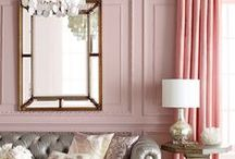 P r e t t y   P i n k   D e c o r / Shades of pink for the home and pink decor #pink #home #decor #interior