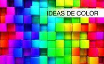 Ideas de color / El color es un efecto físico maravilloso que nos despierta los sentidos. Conoce por medio de los colores la esencia y personalidad de tu hogar.