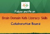 Brain Domain ELA  Collaborative Board (K to 5) / ELA Collaborative Board for PreK, K and Elementary English Language Arts  and Literacy Teachers, Parents and Education Providers. KIndly Pin Maximum 3 pins daily.