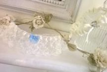 Handmade Garters / Handmade Bridal garters from Beautiful Unique