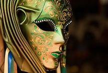 Venice, artists and photographers dream / Masks and costumes taken at Carnavale Venezia