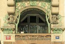 Art Nouveau - architecture / Jugendstil