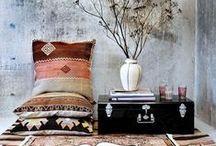 B o h e m i a n   D e c o r / Boho home decor and design, gypsy style, morrocan #bohemian deco #boho interior#bohemian homes