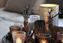 Festive Decor / Ideas and inspiration to help you set up for Christmas.