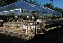 Tented Events / Tent rentals in South Florida. Renting a tent for weddings, parties, and special events.