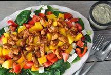 Lunch gezond / Een gezonde lunch geeft je energie voor de rest van de dag. Schenk daarom aandacht aan deze maaltijd.