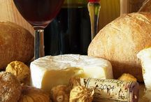 Wine, Bread and Cheese / Together just perfect!