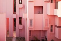 pops of pink / fashion, art, nature - because pink looks good everywhere