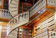 Libaries/ Books and Movies / We have architecture, style of reading corners. Book and Film recommendations