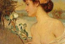 Art - 2 / Figurative and Impressionist paintings